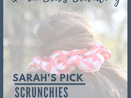 Sew Along with ALD Quick Sews: Scrunchies