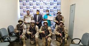 Xique-Xique: Capitães da CAESA recebem títulos de cidadão durante sessão solene na Câmara.