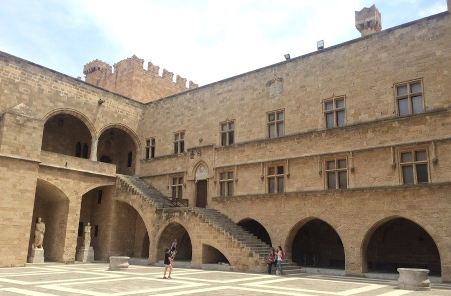 ארמון ראשי המסדר הטמפלרי רודוס