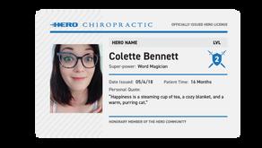 Hero Spotlight #1: Colette Bennett