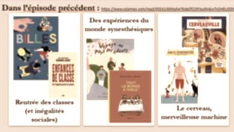 Présentation de l'actu éditoriale romans/docs pour la jeunesse, à la Bibliothèque Buffon à Paris !