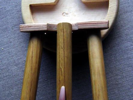 Folding 3 Legged Stool - Nick Crocker