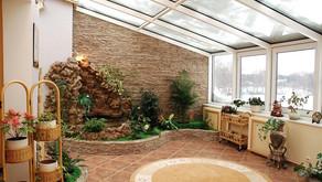 Декоративная и живая флористика в интерьере
