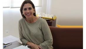 Rosana Valle e diretor da FIESP discutem projeto de recuperação do Terminal de Pesca de Santos