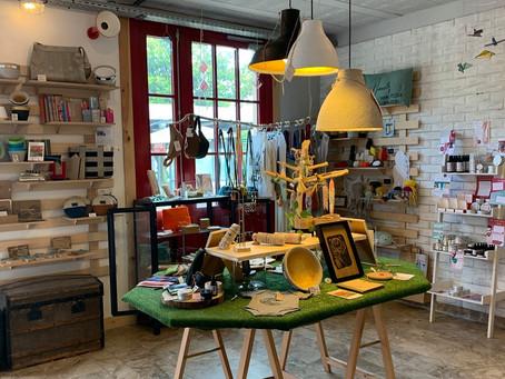 Bienvenue sur notre boutique de créateurs locaux.