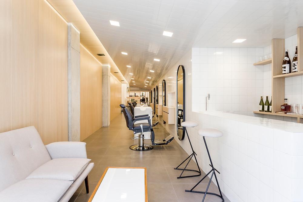 minimalist berber salonu