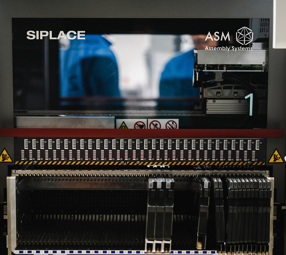 Siplace ASM Pick and Place Machine for SMT (Surface mount technology) technique.
