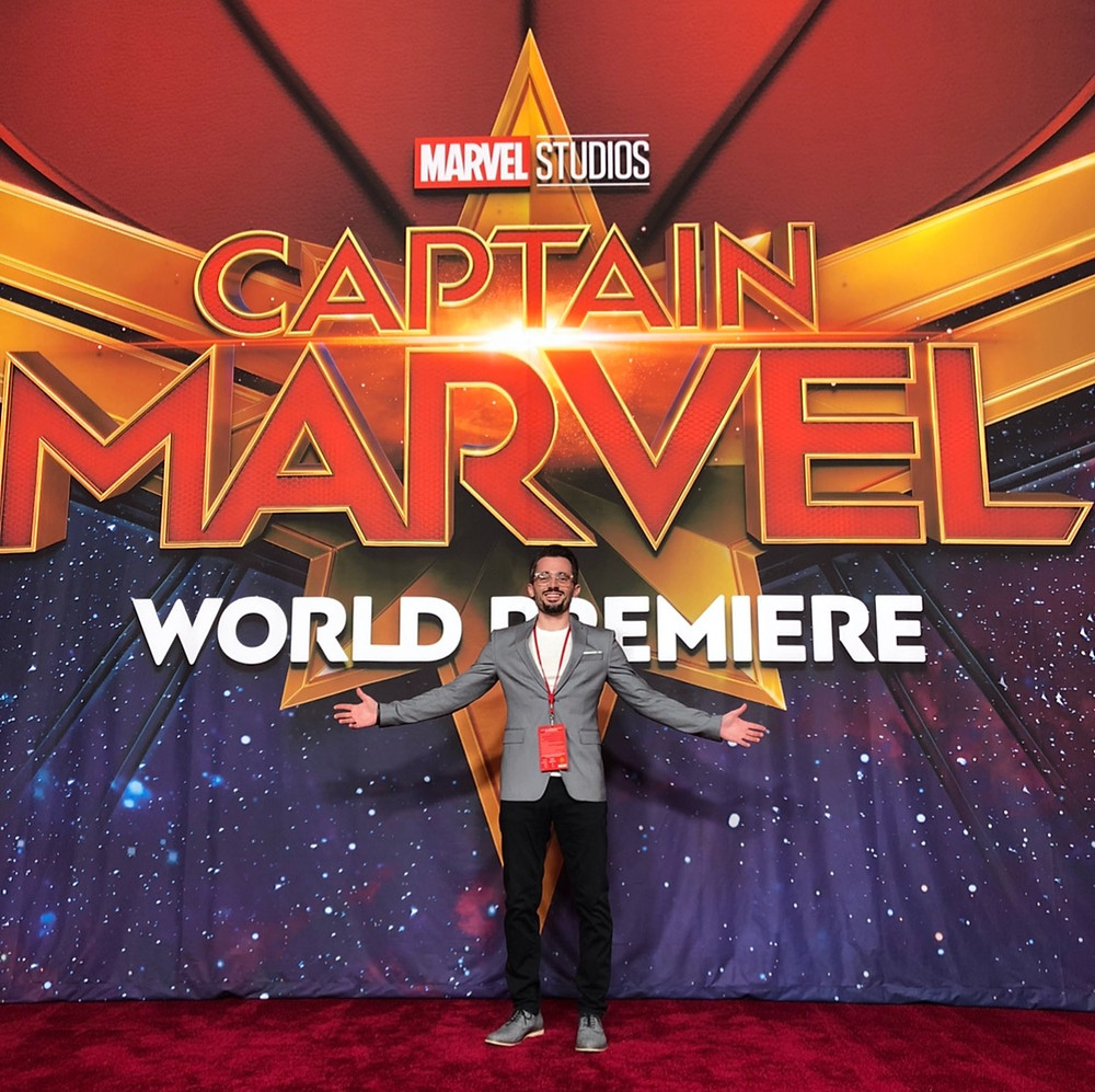 "Brad R Lambert at the ""Captain Marvel"" Premiere in LA"