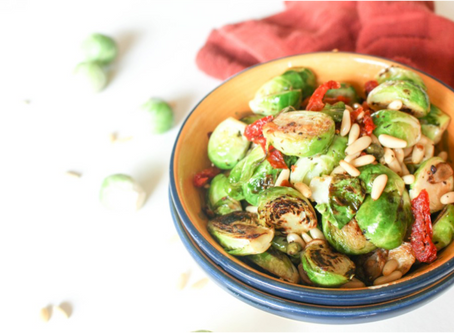 Will your Kid's Eat Italian Brussels Sprouts?