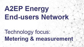 A2EP Energy End-user Network meeting - 17 September