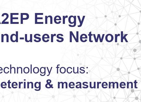 A2EP Energy End-user Network meeting - 17 September