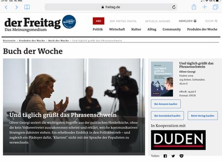"""""""Buch der Woche"""" im """"Freitag"""""""