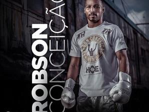 Boxe: Robson Conceição em sua 15ª luta profissional