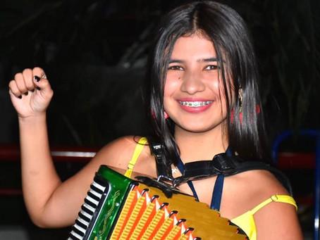 Loraine Lara, una sabanalarguera que se robo los corazones de los vallenatos