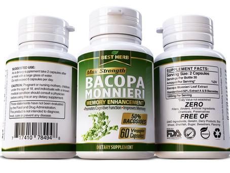 Bacopa Monnieri Brain Boosting Herbal Supplement