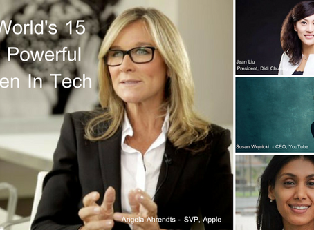 The World's 15 Most Powerful Women In Tech