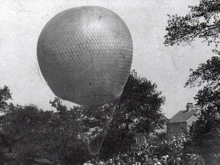 Haywards Heath motorists in pursuit of an Air Balloon