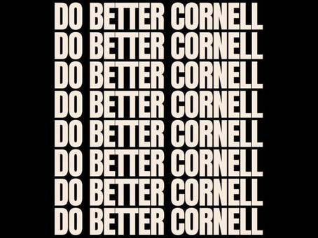 """Do Better Cornell"" and the Continuous Fight for Constitutional Change"