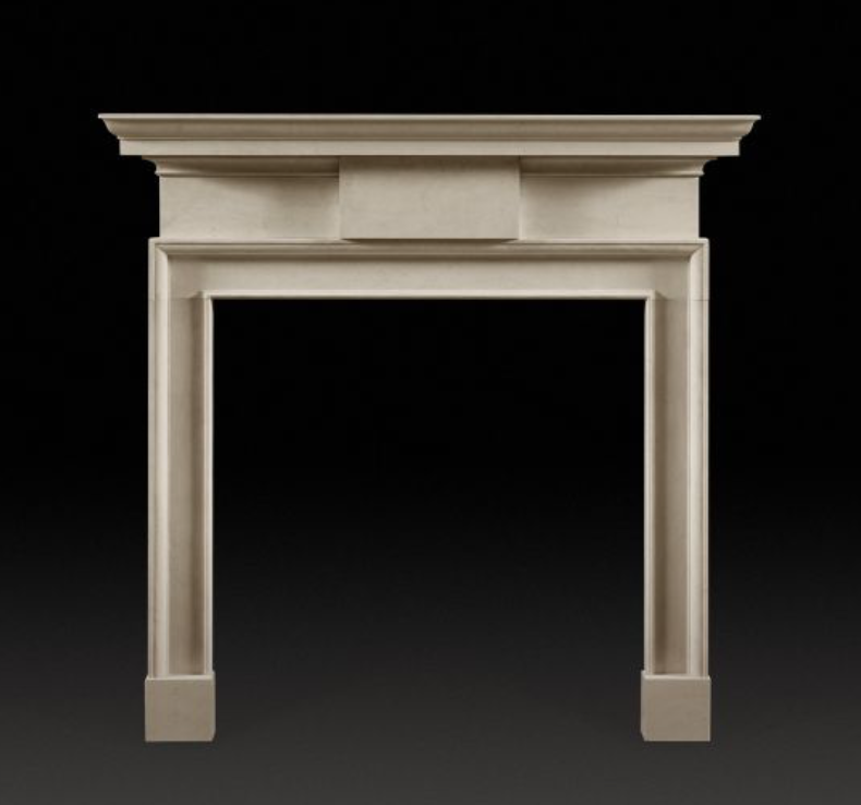 Jamb surround, Winchester fireplace, white fireplace, classical fireplace
