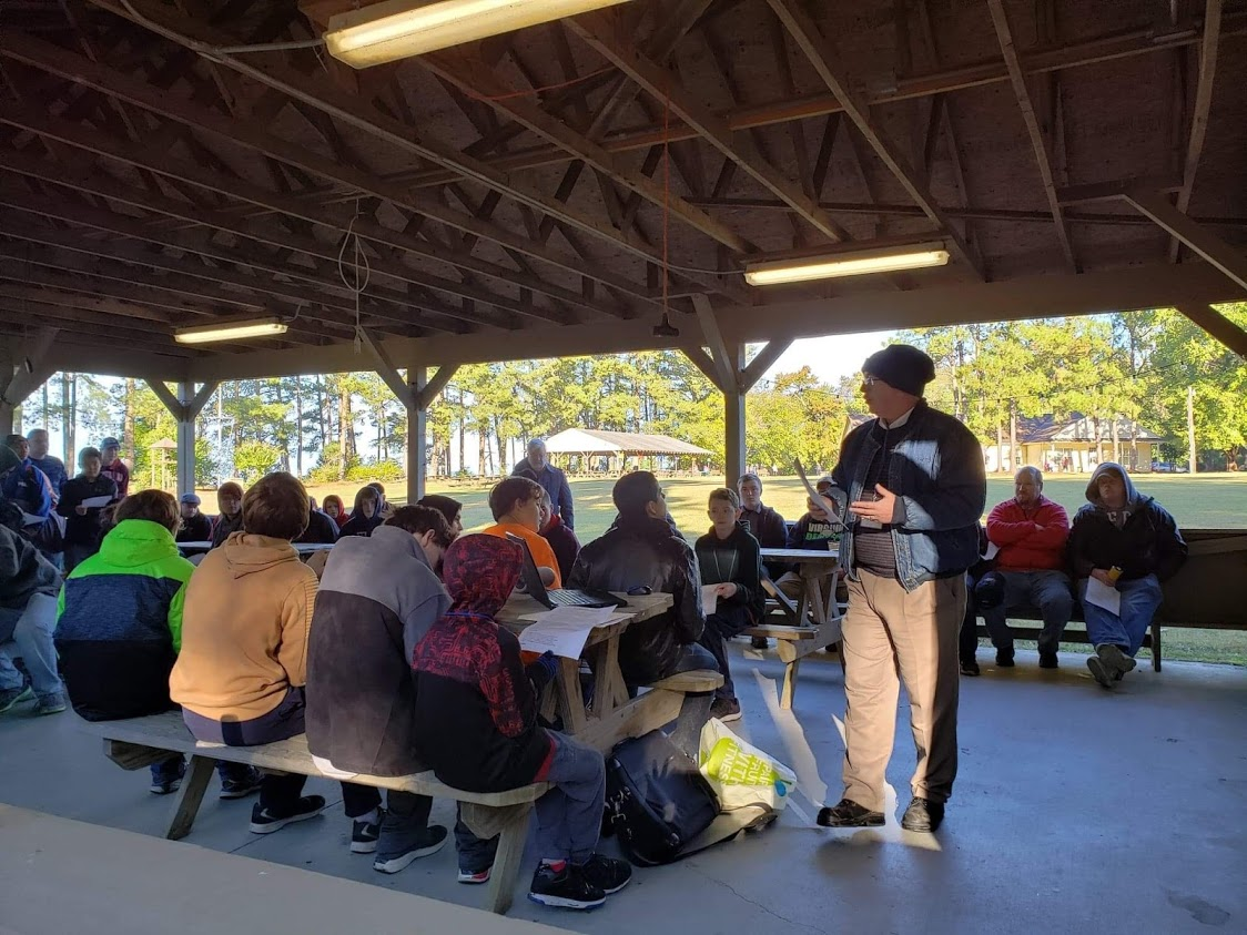 Devotional Service at Fall Fest