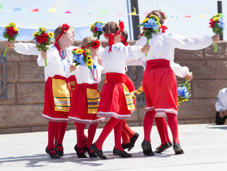 Pictures from the 2018 Ukrainian Summer Camp performance at the North Dakota Ukrainian Festival!