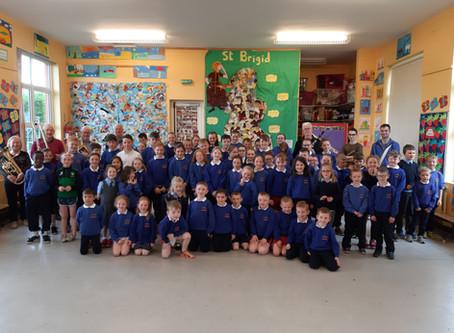 Castlebar Brass Band visit our school