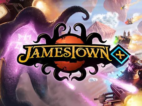 RELEASES | Neoklassisches Shoot-Em-Up-Spektakel: Jamestown+ ist ab heute verfügbar