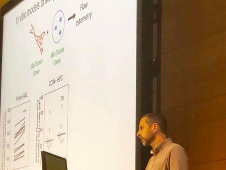 Stuart presenting at ESH tumour microenvironment meeting - London, Feb 2019