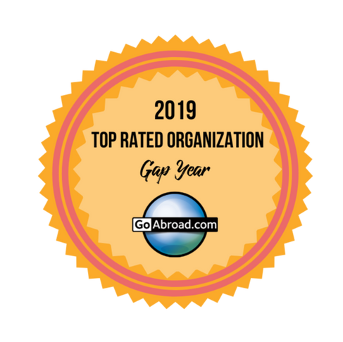 """An Honor to Share-Wanderlust Won as a """"Top rated gap year organization of 2019"""""""