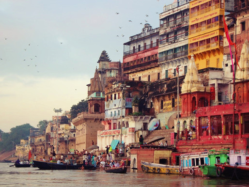 Les rives du Gange à Bénarès (Varanasi) en Inde