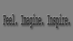 What we imagine, inspires new feelings within.