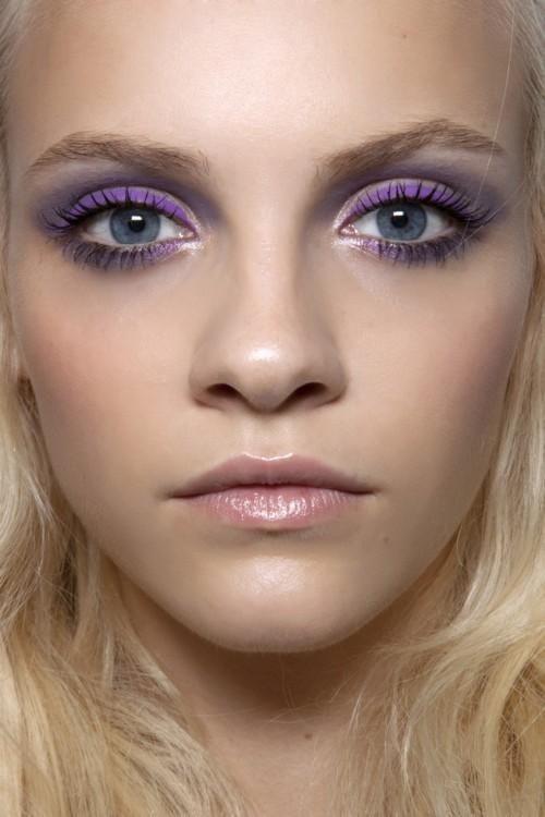Purple, roxo maquiagem, purple trend 2020, tendência de maquiagem 2020