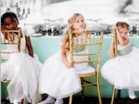 Ideas to keep children entertained during a wedding day
