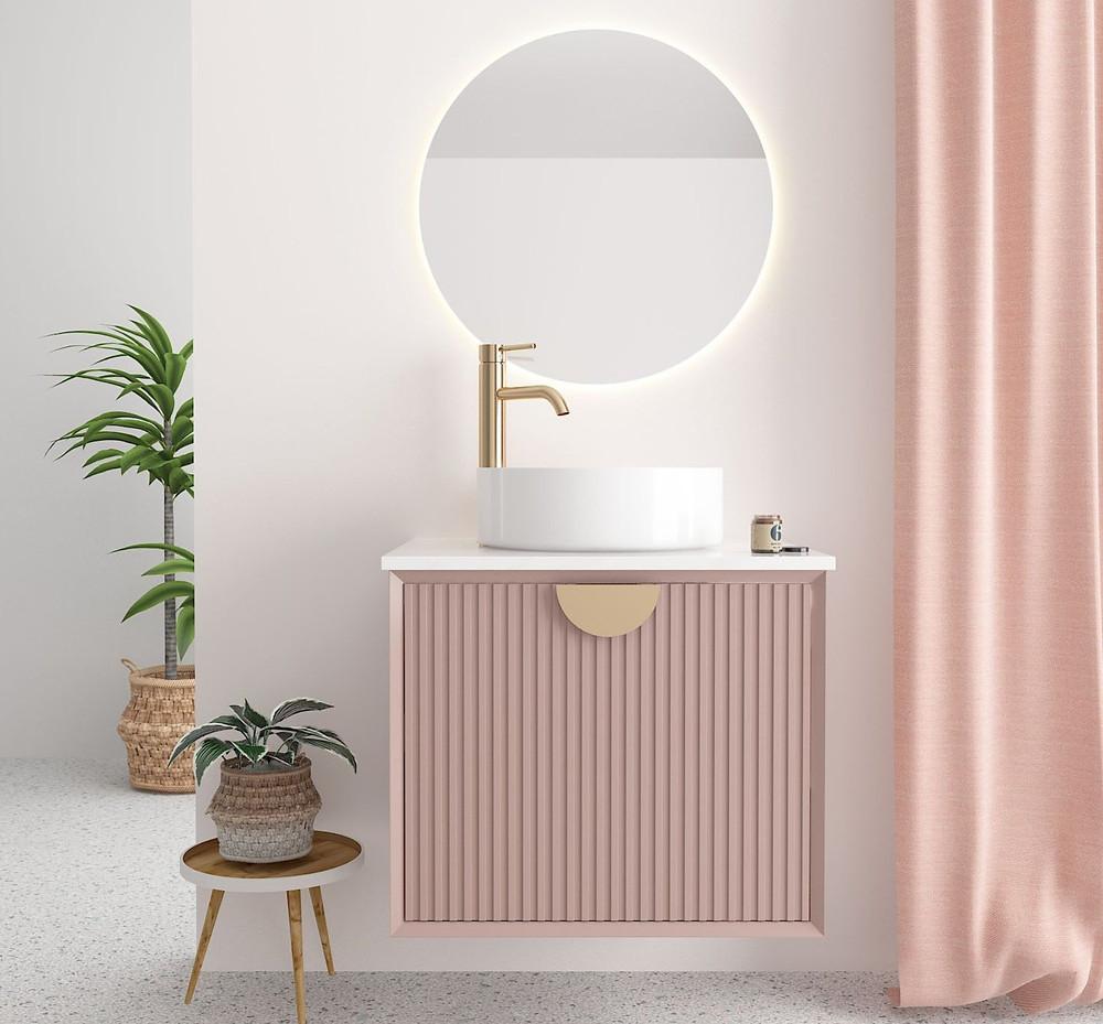 floating vanity. vessel or wall-mounted sink. bathroom designs tips. lakkad works