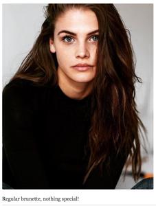 Regular brunette, nothing special