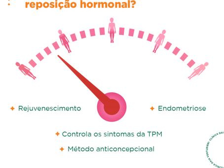 Você já cogitou a reposição hormonal?