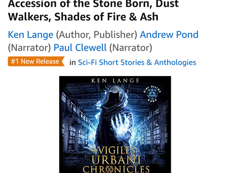Holy crap, #1 New Release. Thank you all so much.