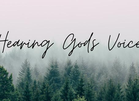 Week 3 - Listening for God