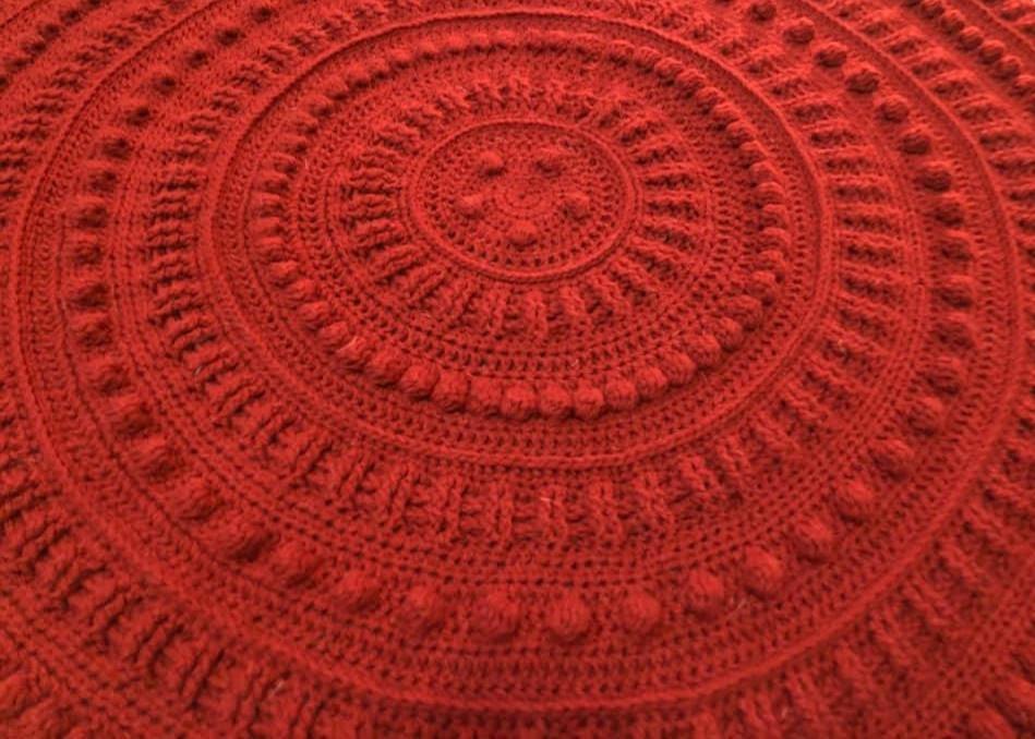 crochet blanket, north star, baby blanket, lap blanket