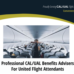 United Airlines Flight Attendants - We can help make sense of your options.