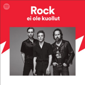 """Official Spotify curated playlist called """"Rock isn't Dead"""""""