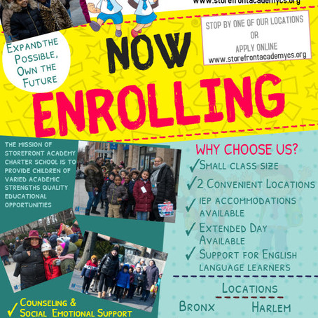 Now Enrolling- Apply today Online!