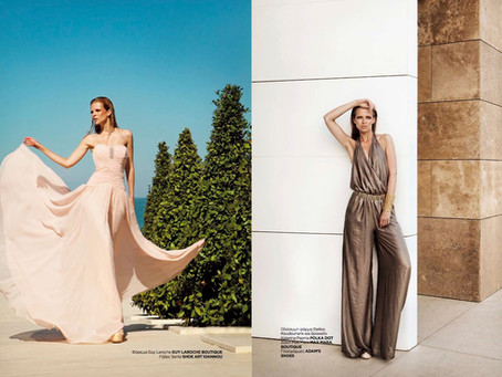 Backstage for a Fashion Photoshoot MUA Sakis Isaakidis @ Cavo Olympo Luxury Spa and Resort