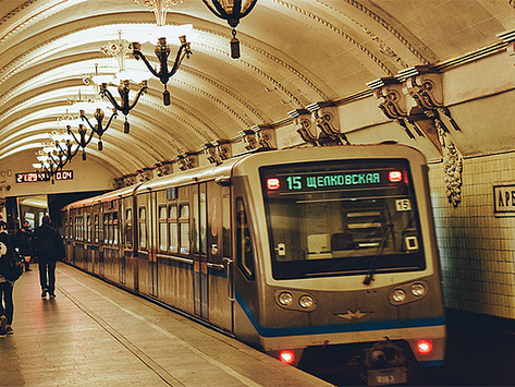 """""""A construção do Metro de Moscou"""""""