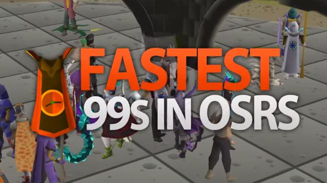 Fastest 99s in OldSchool RuneScape
