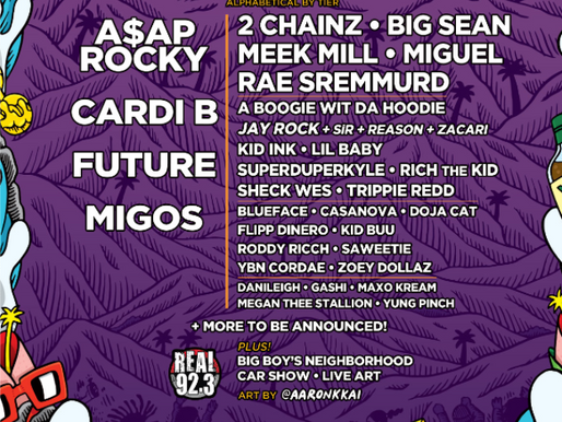 CARDI B, FUTURE, MIGOS and MORE SET TO HEADLINE AT REAL STREET FESTIVAL