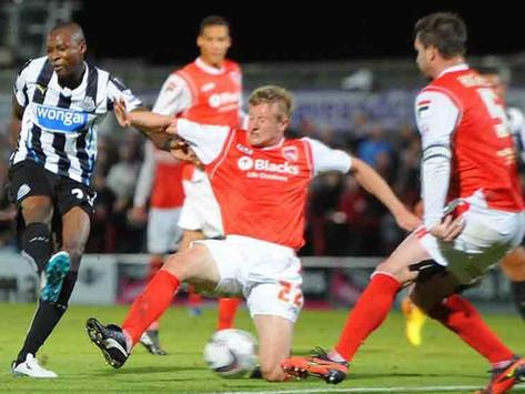 Morecambe 0-2 Newcastle - Brilliant Brothers!