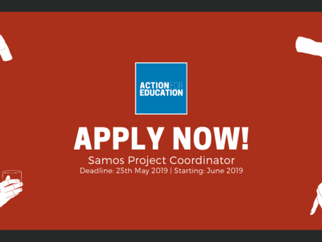 NEW OPENING: Samos Project Coordinator
