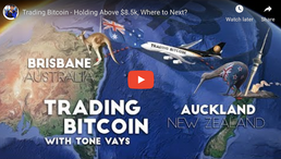 🎬 Tone Vays: Trading Bitcoin - Holding Above $8.5k, Where to Next?