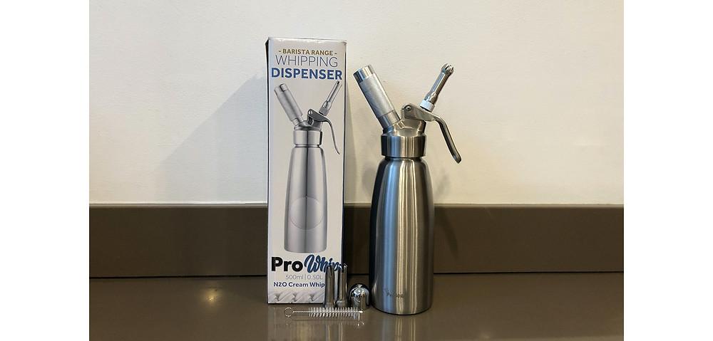 Pro Whip 500ml N20 metal whipping dispenser
